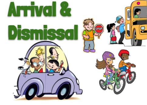 2019-2020 Arrival and Dismissal Procedures
