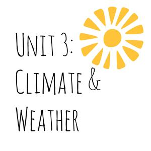 Unit 3 Climate and Weather