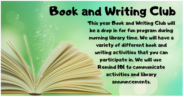 WELCOME TO THE LONGHORN BOOK/WRITING CLUB!     GET READY FOR THE ULTIMATE EXPERIENCE OF READING AND WRITING.
