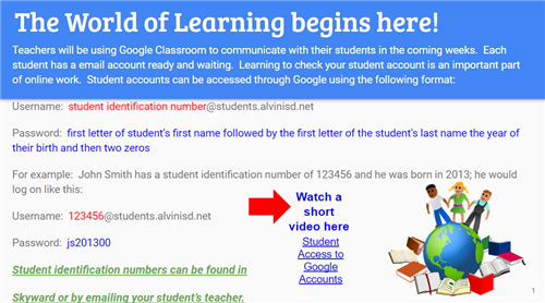 Back to School with Google Classroom