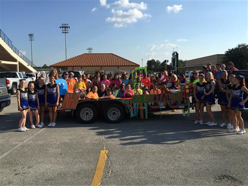 2015 Best Jr High Float