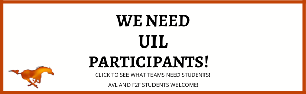 UIL participants needed