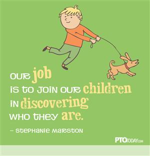 our job is to join our children in discovering who they are