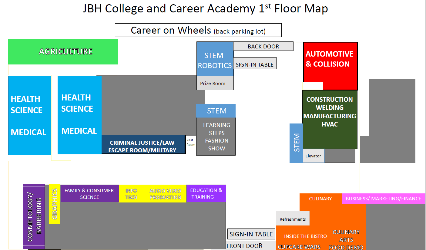 PNG Career Extravaganza Maps 2020