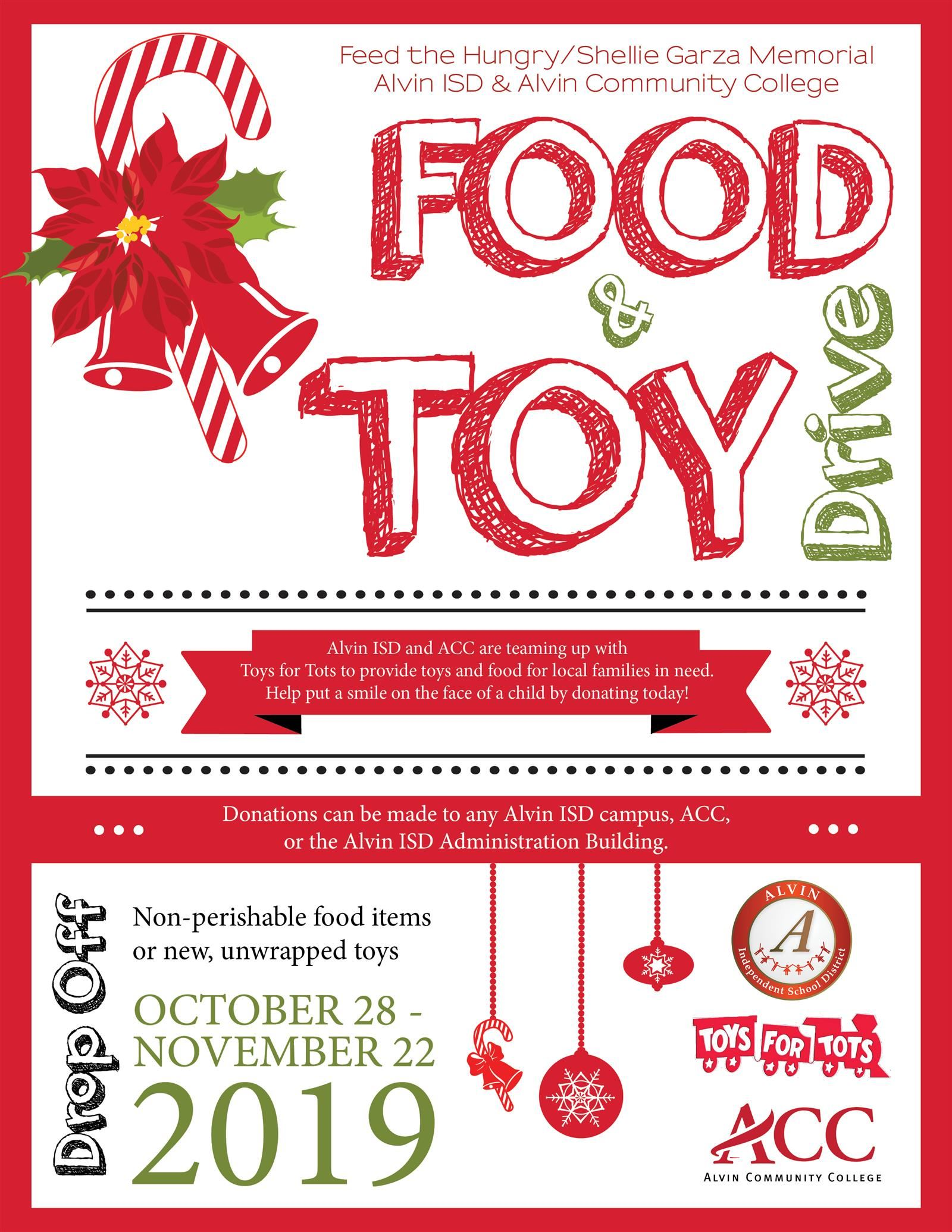 Food and Toy Drive English