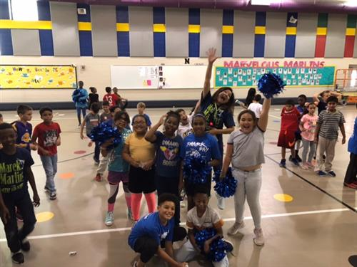 STAAR pep rally fun