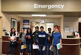 Alvin ISD STEM Academy students play doctor at HCA Houston Healthcare Pearland