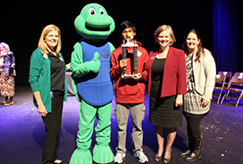 Congrats to our Alvin ISD Spelling Bee Winner!
