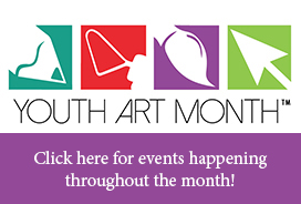 It's Youth Art Month!