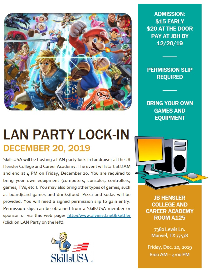 Lan Party Flyer