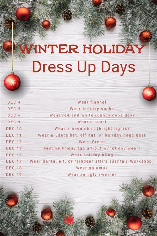 Holiday dress up