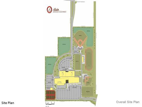 Site Plan for High School #3