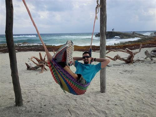 Relaxing in Mexico