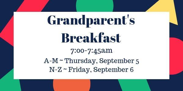 Grandparents Breakfast