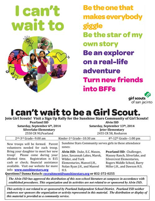 Girl Scouts!!