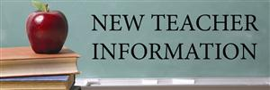 New Teacher Information