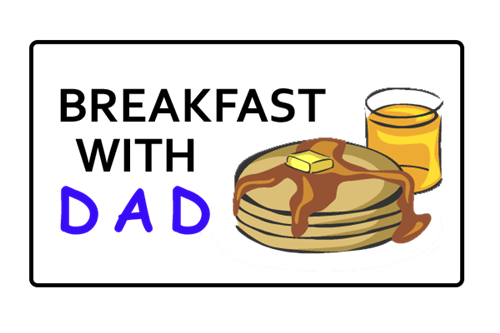Image result for breakfast with dads